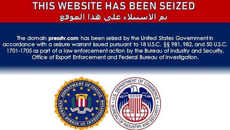 US seizes dozens of Iranian-run sites 'disguised as news organizations'