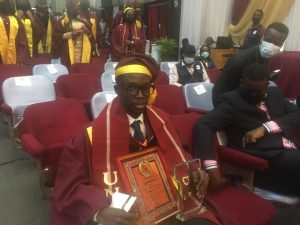 Passion, hard work, my driving force, says UNILAG best graduating student