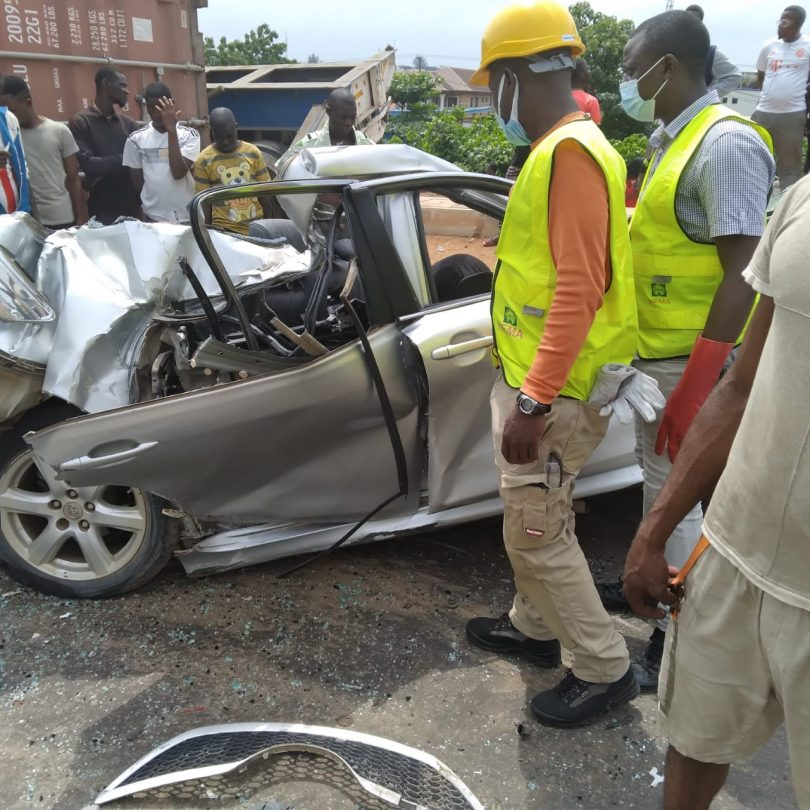 Container crushes hawker, injures female driver- NEMA