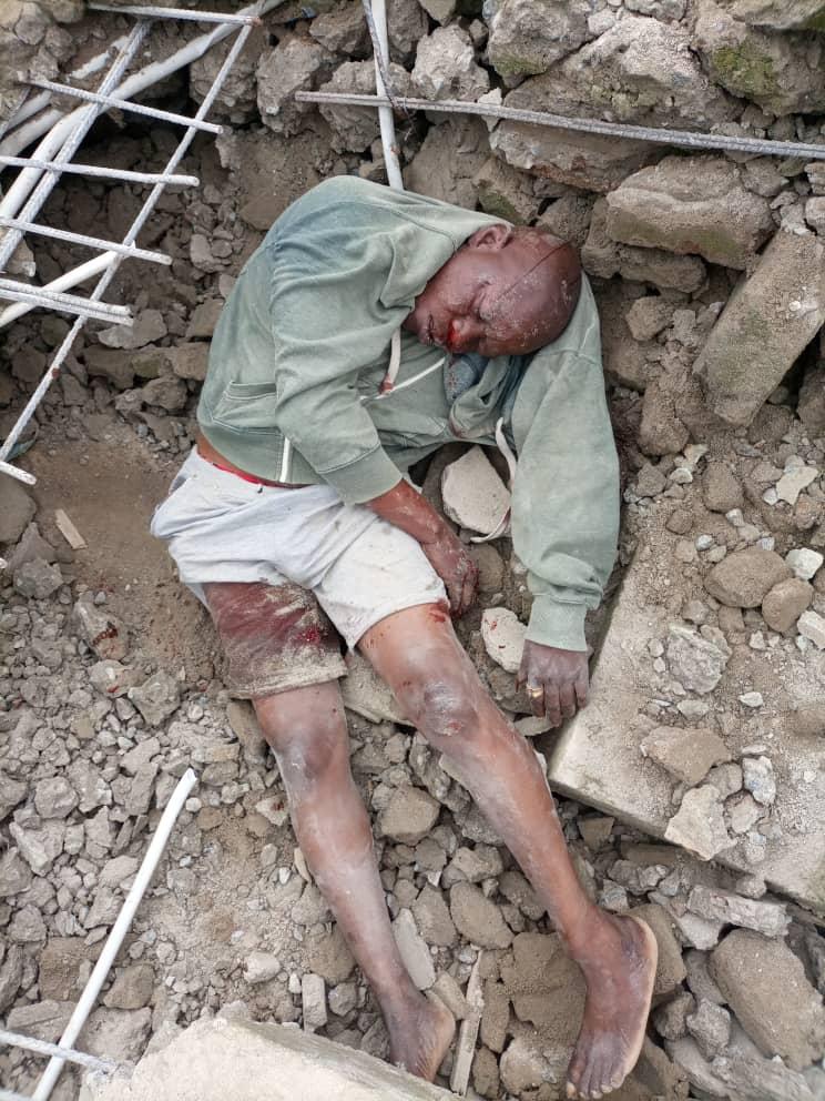 Lagos Building collapse kills landlord