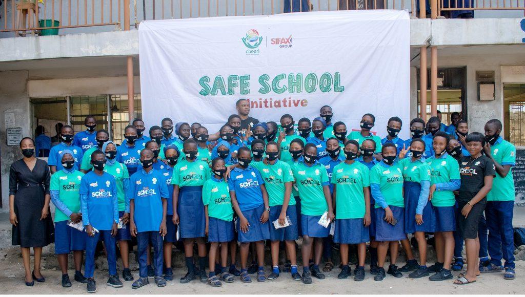 SIFAX trains 200 Students to avoid juvenile delinquencies pitfalls