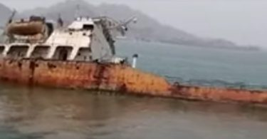 DIA: Tanker sinks off Aden after 7years abandonment