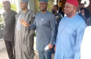 PDP National Reconciliation C'tte Chairman, Saraki, others meet in Ibadan