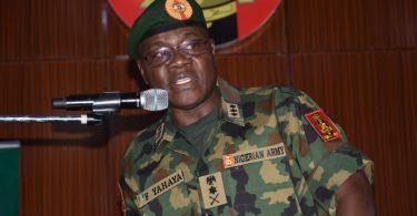We will talk to terrorists, bandits in language they understand – COAS Yahaya