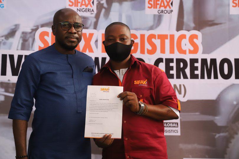 SIFAX Logistics rewards 19 truck drivers, technicians over Excellent Performances