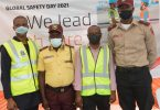 APM Terminals Apapa gifts truck drivers over 1000 PPE to mark Safety Day