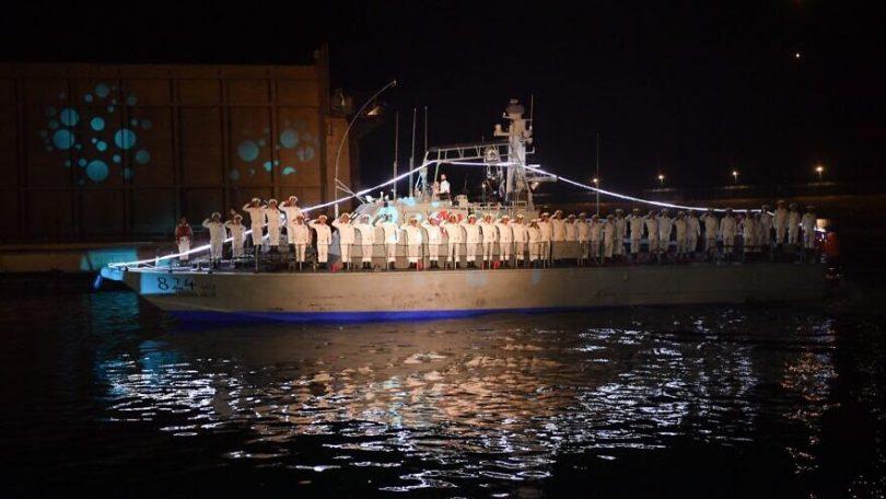 Israeli Navy salutes 38 new officers at ceremony in Haifa