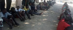 Police parade 76 suspects for various crimes in Borno