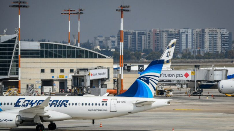 Egypt-Israel flights take off, warming relations that have been stagnant for years